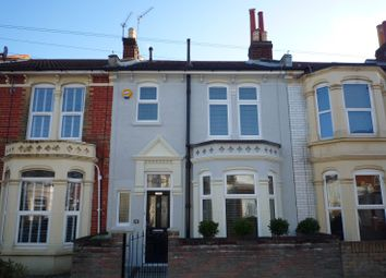 Thumbnail 3 bed terraced house to rent in Paddington Road, Portsmouth