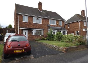 Thumbnail 3 bed semi-detached house for sale in Alexander Road, Walsall, West Midlands