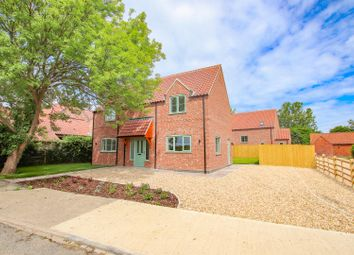 Thumbnail 3 bed detached house for sale in Royal Oak Lane, Aubourn, Lincoln