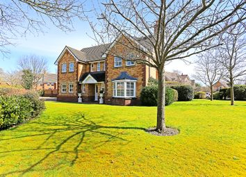 Thumbnail 5 bed detached house for sale in Whitefields Road, Solihull