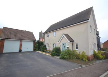 Thumbnail 4 bed detached house for sale in Lion Close, Norwich