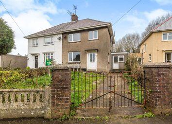 Thumbnail 4 bed semi-detached house to rent in St James Crescent, Pyle, Bridgend