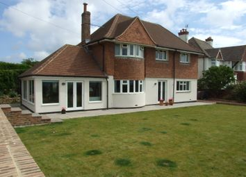 Thumbnail 4 bed detached house for sale in South Cliff, Bexhill-On-Sea