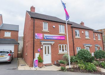 Thumbnail 3 bedroom end terrace house for sale in Glebe Farm, Kettering Road, Pytchley, Kettering