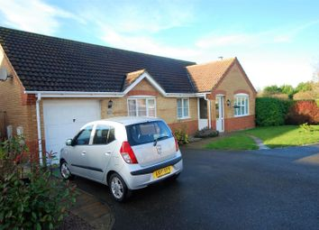 Thumbnail 3 bed detached bungalow for sale in The Pastures, Cowbit, Spalding