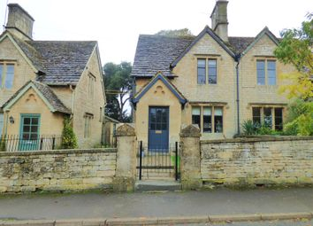 Thumbnail 2 bed semi-detached house for sale in Church Road, Kemble, Cirencester, Gloucestershire