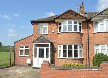Thumbnail 4 bed semi-detached house for sale in Bradgate Drive, Wigston, Leicester