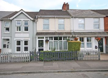 Thumbnail 2 bed terraced house for sale in Christchurch Road, Barton On Sea, New Milton