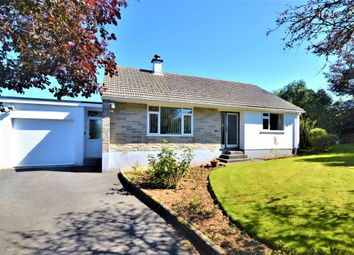 Thumbnail 3 bed detached bungalow for sale in Trelawney Road, Callington, Cornwall