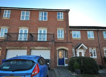 Thumbnail 3 bed town house for sale in Oyster Close, Burton-On-Trent
