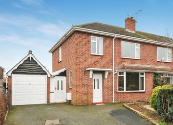 Thumbnail 3 bedroom semi-detached house for sale in Quarry Road, Hereford