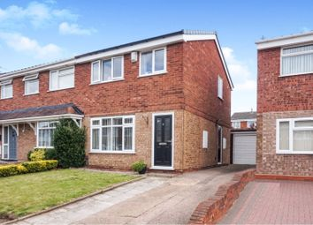 3 bed semi-detached house for sale in Roebuck Glade, Willenhall WV12