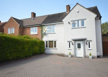 Thumbnail 4 bed semi-detached house for sale in Arbury Hall Road, Shirley, Solihull