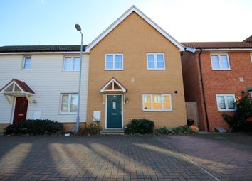 Thumbnail 3 bedroom semi-detached house for sale in Juliette Mews, Romford