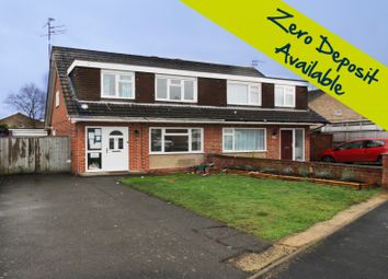 Thumbnail 3 bed semi-detached house to rent in Rowland Way, Aylesbury