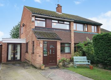 Thumbnail 4 bed semi-detached house for sale in Wroxham Road, Great Sankey, Warrington
