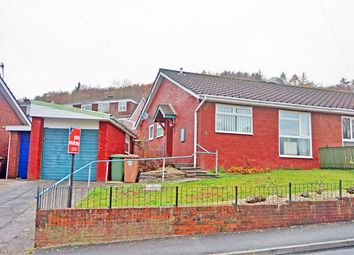 Thumbnail 2 bed semi-detached bungalow for sale in Heathlands, Ystrad Mynach