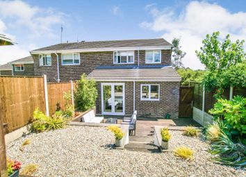 Thumbnail 3 bed semi-detached house for sale in Ullswater Drive, Dronfield Woodhouse, Derbyshire