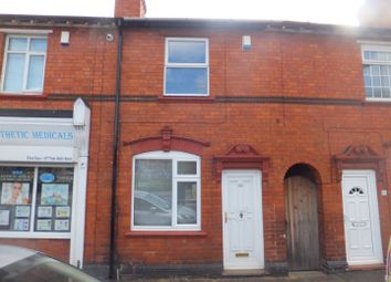 Thumbnail 3 bed terraced house for sale in Lower Queen Street, Sutton Coldfield