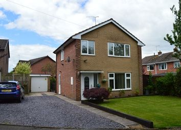 Thumbnail 3 bed detached house for sale in Pine Close, Market Drayton