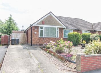 Thumbnail 2 bed semi-detached bungalow for sale in Loverock Crescent, Hillmorton, Rugby