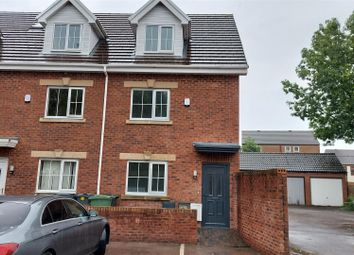 Thumbnail 4 bed end terrace house for sale in Bessemer Road, Leckwith, Cardiff