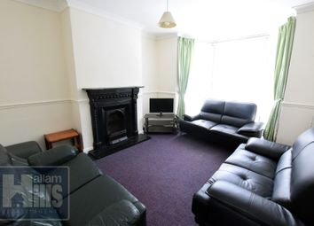 Thumbnail 5 bed terraced house to rent in Newington Road, Sheffield, South Yorkshire