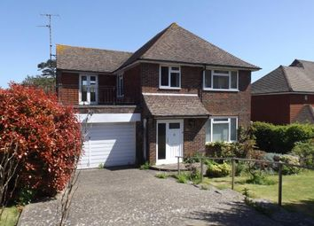 Thumbnail 4 bed detached house for sale in Upper Ratton Drive, Eastbourne, East Sussex