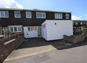 Thumbnail 3 bedroom terraced house for sale in Bromley Gardens, Houghton Regis, Dunstable