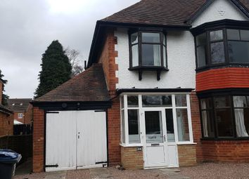 Thumbnail 4 bed semi-detached house to rent in Hazelwood Road, Acocks Green, Birmingham