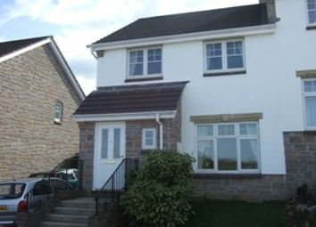 Thumbnail 3 bed property to rent in Boveway Drive, Liskeard
