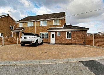 Thumbnail 3 bed semi-detached house for sale in Goodmanham Way, Cottingham
