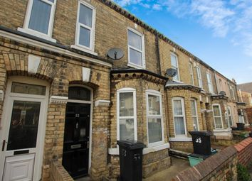 Thumbnail 3 bed terraced house to rent in Brownlow Street, York