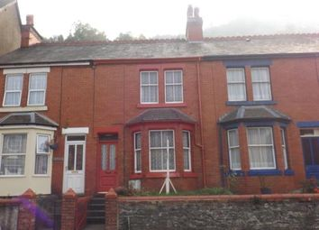 Thumbnail 3 bed terraced house for sale in London Road, Corwen, Denbighshire