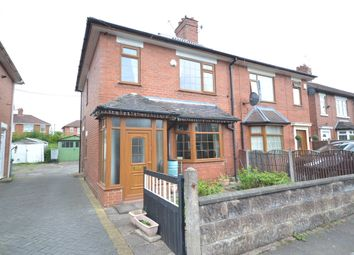 Thumbnail 2 bed semi-detached house for sale in Florence Road, Hanford, Stoke-On-Trent