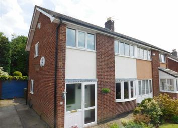 Thumbnail 3 bedroom semi-detached house for sale in Briarley Gardens, Woodley, Stockport