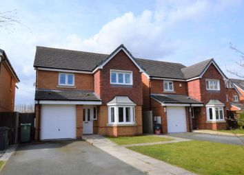 Thumbnail 4 bed detached house for sale in Neston Close, Helsby, Frodsham