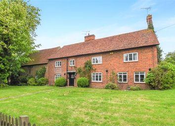 Thumbnail 6 bed farmhouse for sale in Lower Road, Hardwick, Buckinghamshire.
