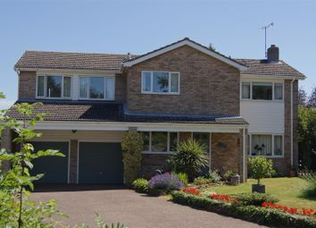 Thumbnail 4 bedroom detached house for sale in Longacre Gardens, Bury St. Edmunds