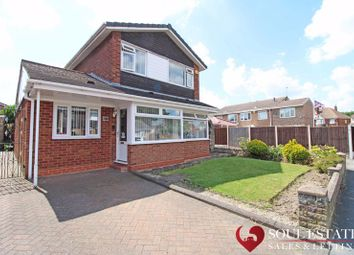 Thumbnail 3 bed detached house for sale in Oakley Avenue, Tipton