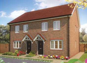 "Thumbnail 2 bed terraced house for sale in ""The Holly "" at Drake Grove, Burndell Road, Yapton, Arundel"