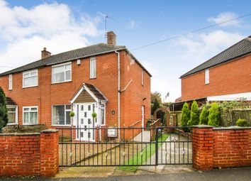 Thumbnail 2 bed semi-detached house for sale in Stanks Rise, Leeds
