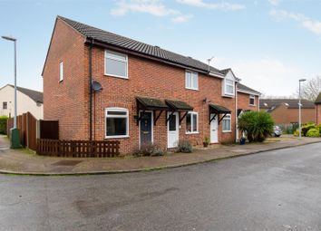 Thumbnail 2 bed end terrace house for sale in Lindley Close, Old Catton, Norwich