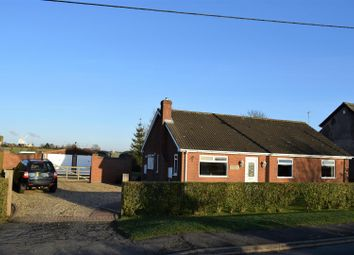 Thumbnail 3 bed bungalow for sale in Kettleby Lane, Wrawby, Brigg