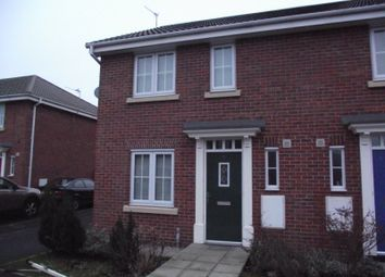 Thumbnail 3 bed semi-detached house to rent in Burmarsh Lane, Widnes