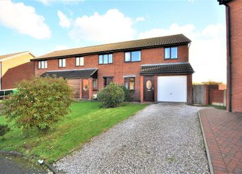 Thumbnail 3 bed semi-detached house for sale in Lancaster Close, Great Eccleston, Preston, Lancashire