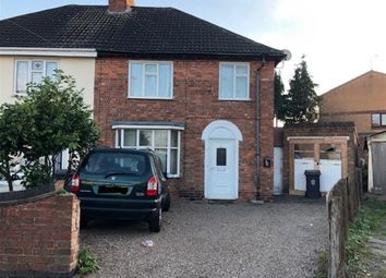 Thumbnail 3 bed semi-detached house for sale in St Bernards Avenue, Belgrave, Leicester