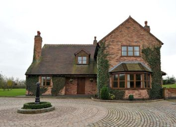 Thumbnail 4 bed detached house to rent in Manor House Farm, Bulls Lane, Wishaw, Sutton Coldfield