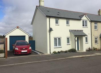 Thumbnail 3 bed semi-detached house for sale in Higher Moor, Ruan Minor, Helston