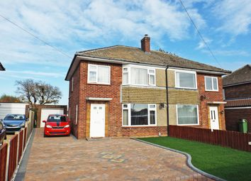 Thumbnail 3 bed semi-detached house for sale in Upper Breckland Road, New Costessey, Norwich